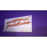 Emblemas Calcomanias Tanque Pulsar Ns 200 Naranja Pro