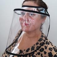 Mascara Protectora Facial Cubreboca Antigoteo Anticontagio