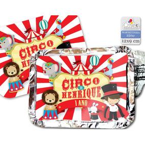 20 Unid - Marmitinha Personalizada - Circo