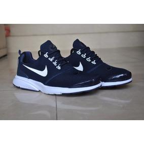 Kp3 Nuevo !!! Zapatos Nike Presto Fly Azul Para Caballeros