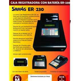 Registradora Fiscal Marca Samsung (sam4´s) Modelo Cr230