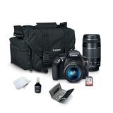 Camara Canon T6 Con 2 Lentes Y Regalos