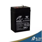 Bateria De 6v 4.5ah Para Lamparas De Emergencia