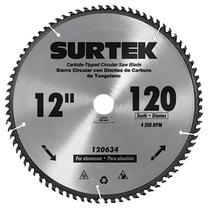 Disco P/ Sierra Circular P/ Aluminio 12in120 Dientes Surtek