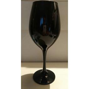 Distinguido Copón De Vidrio Negro (hecho En Brazil)