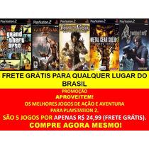 Resident Evil 4 Português Br Playstation 2 (kit 5 Jogos Ps2