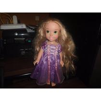 Hermosa Muñequita Princesa Rapunzel Enredados