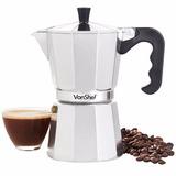 Cafetera Italiana Vonshef 6 Tazas Espresso Coffe