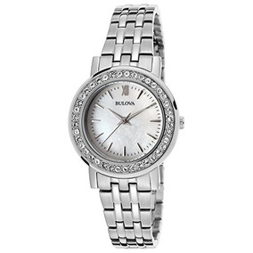 Bulova Mujer Intercambiable Bezel Watch Box Set