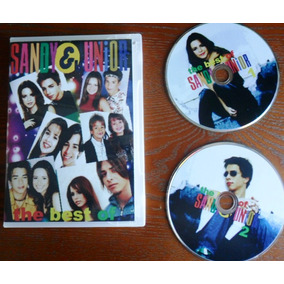 Dvd Duplo The Best Of - Sandy E Júnior