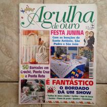 Revista Agulha De Ouro 59 Festa Junina 50 Barrados Em Crochê