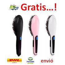 Cepillo Electrico, Alaciado Y Peinado En Minutos Facil.
