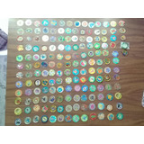 Tazos Pokemon, Mucha Lucha, Marvel, Yu-gi-oh, Simpsons, Dc
