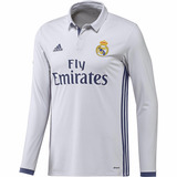 Real Madrid Long Sleeve Home Jersey 2016/17 adidas Original