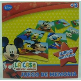 Juego Memoria Mickey