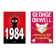 Kit  2 Livros - 1984 + Revolução Dos Bichos - Texto Integral