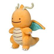 Mini Peluche Ditto Dragonite Pokemon Center Edición Limitada