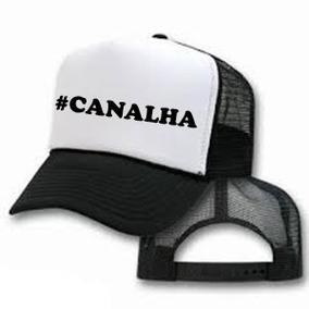 Bone Canal Canalha Barato - Bonés Masculinos no Mercado Livre Brasil 90269893d04