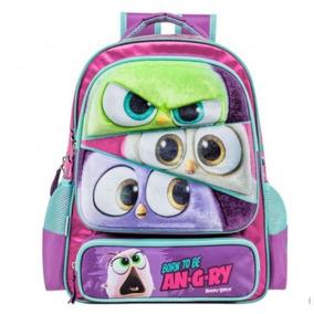 Mochila Backpack Angry Birds Envio Gratis 168946 Escuela