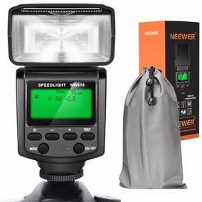 Flash Speedlite Profesional Neewer Nw610 Canon Nikon Y Mas