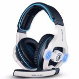 Auriculares Sades Sa Gaming Headset 903 Usb 7.1 Canales