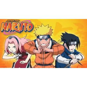 Pen Drive Com Naruto Clássico Completo