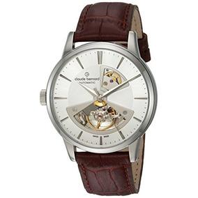 Claude Bernard Reloj Automático Suizo De Acero Inoxidable Y