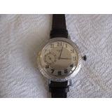 Reloj Bolsillo De Plata Longines Caja Personalisada