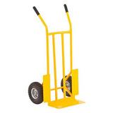 Carro Armazém P/ Cargas Capacidade De 300 Kg Ccv0300 Amarelo