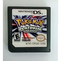 Pokemon Platinum P/ Nintendo Ds 2ds 3ds Frete Barato R$8,50