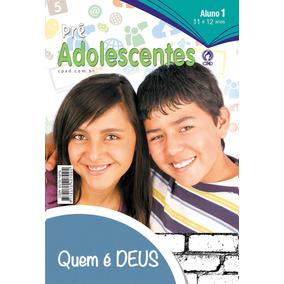 Revista Ebd Pré-adolescentes 1º Tri / 2017 - Aluno.