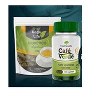 Cafe Verde Bem Estar Life - 60 Cápsulas + Chá