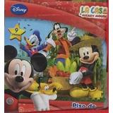 La Casa De Mickey Mouse - Piso De Goma 9 Piezas !!!