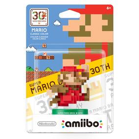 Amiibo Mario 8 Bits Classic Collor