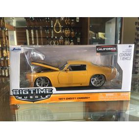 Chevy Camaro Ss 1971, Big Time Muscle Jada Toys, Escala 1/24
