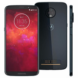 Motorola Moto Z3 Play Índigo 64gb + Nf 1 Ano De Garantia