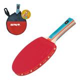 Raquete Tênis De Mesa Semi Prof Emborrachada Ping Pong