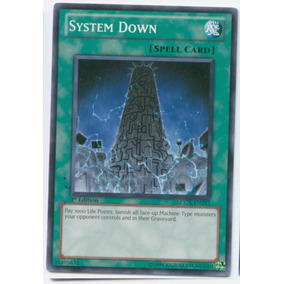 System Down Lcgx - Yugioh Cards