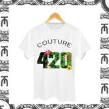 Camiseta 4i20 Feminina E Masculina - Camiseta Maconha