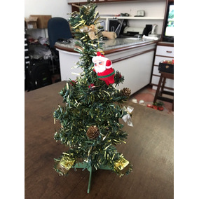 Arvore De Natal Decorada Pequena 30cm
