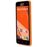 Blu Studio C Hd Smartphone Libre, Android 4.4, 5 , Naranja