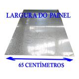 Chapa Zincada Para Painel , Placa Ou Mural 65 Cm X 1 Metro