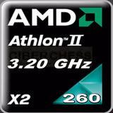 Amd Athlon Iix2 260 3.20ghz/2mb Socket Am3, Am2+ Procesador