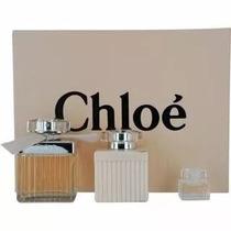 Perfume Chloé Edp Kit Parfum 75ml+ Creme 100ml + Parfum 5ml