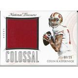 Colin Kaepernick 2015 National Treasures 49ers Jersey /25