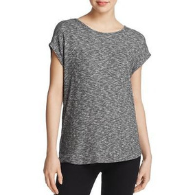 541f0726370b8 Trapo Y Hueso Jeans Mujer Punto Marled Camisa Top De Jersey
