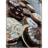 Mesa Dulce + Torta Decorada + 1 Kg De Masas Para 60 Personas