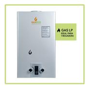 Calentador De Agua Gaxeco 9000 + Kit Instalación Gas Lp