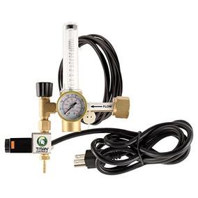 Titan Controls Dióxido De Carbono (co2) Regulador Para Contr