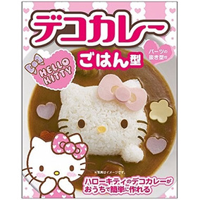 Hello Kitty Sanrio Molde Para Arroz Cocina Divertida
